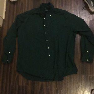 Polo Ralph Lauren Green XL long sleeve button up